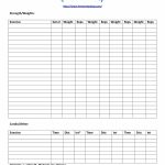 40+ Effective Workout Log & Calendar Templates ᐅ Template Lab   Free Printable Workout Log