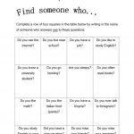 417 Free Esl Bingo Worksheets   Free Printable Parts Of Speech Bingo
