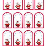 47 Free Printable Christmas Gift Tags (That You Can Edit And   Free Printable Gift Name Tags