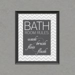 5 Best Images Of Free Bathroom Printable Wall Art Chevron, Bathroom   Free Printable Wall Art For Bathroom