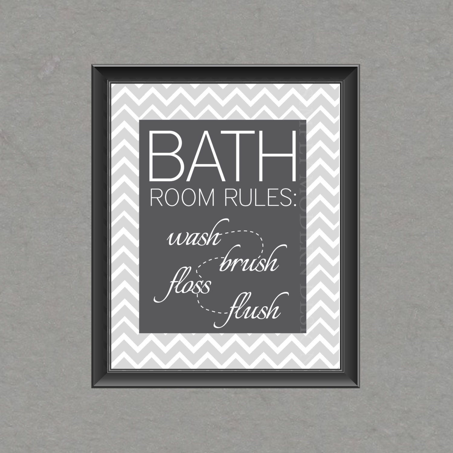 5 Best Images Of Free Bathroom Printable Wall Art Chevron, Bathroom - Free Printable Wall Art For Bathroom