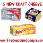 5 New Kraft Cheese Printable Coupons ~ Print Now!   Free Printable Kraft Food Coupons