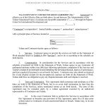 50+ Free Independent Contractor Agreement Forms & Templates   Free Printable Service Contract Forms