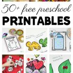 50+ Free Preschool Printables For Early Childhood Classrooms   Free Printable Classroom Labels For Preschoolers