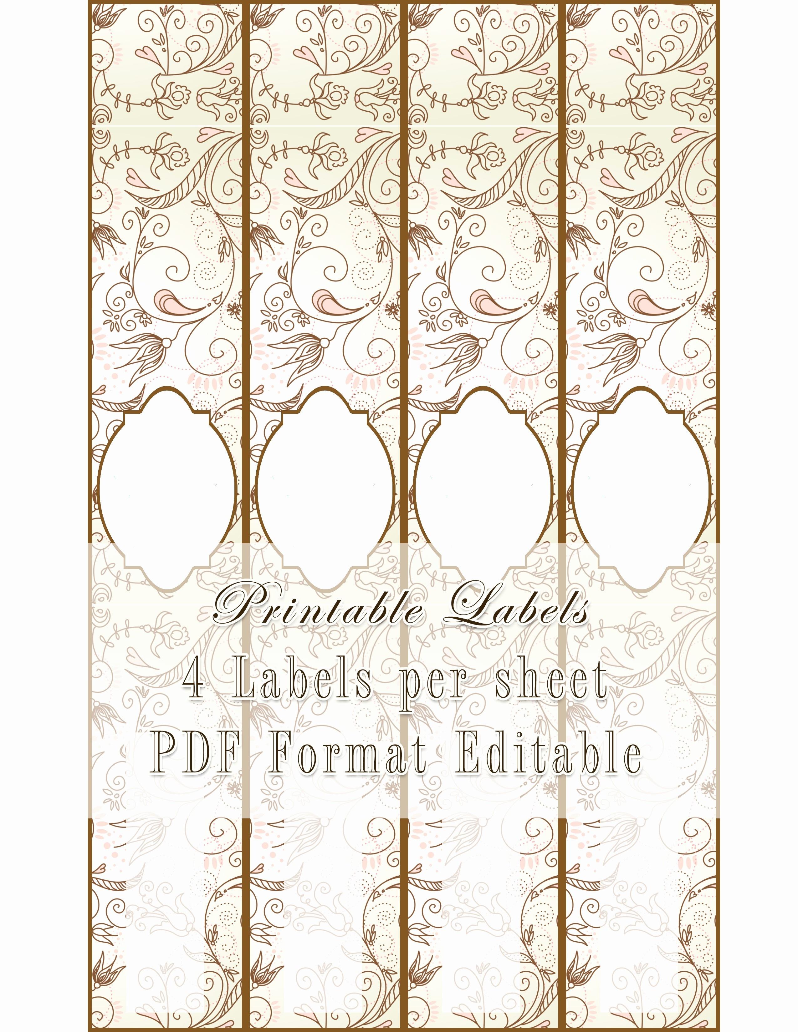 50 Free Printable Soap Label Templates | Culturatti - Free Printable Cigar Label Template