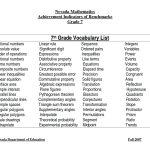 5Th Grade Vocab Worksheets Math Grade Vocabulary Worksheets Reading   Free Printable 7Th Grade Vocabulary Worksheets