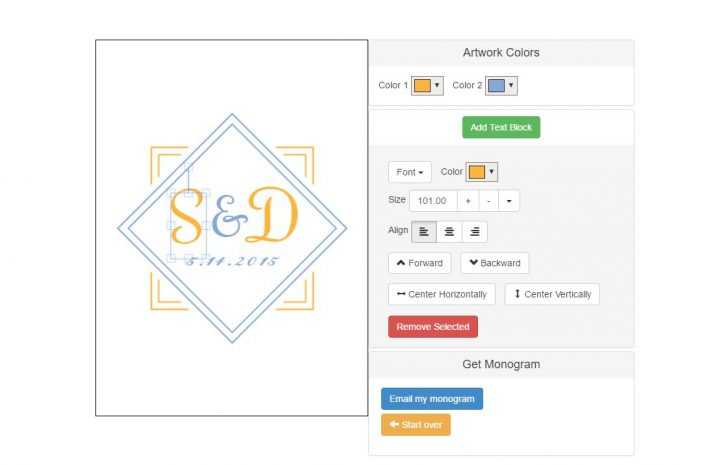Monogram Maker Online Free Printable