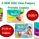 6 Pampers Printable Coupons ~ Print Now! $9 In Savings!   Free Printable Coupons For Pampers Pull Ups