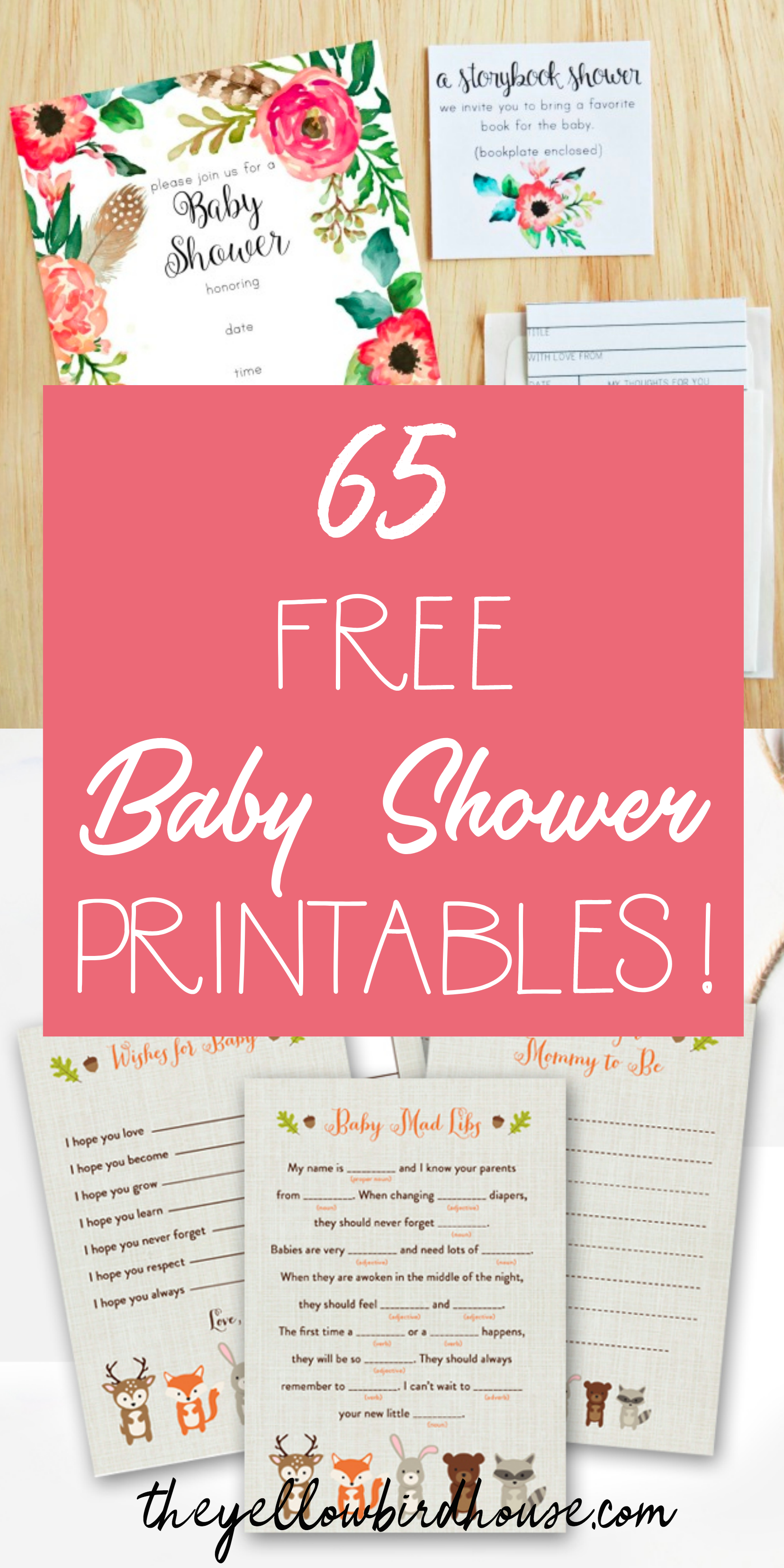 65 Free Baby Shower Printables For An Adorable Party - Free Printable Boy Baby Shower Photo Booth Props