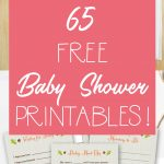 65 Free Baby Shower Printables For An Adorable Party   Free Printable Princess Baby Shower Invitations
