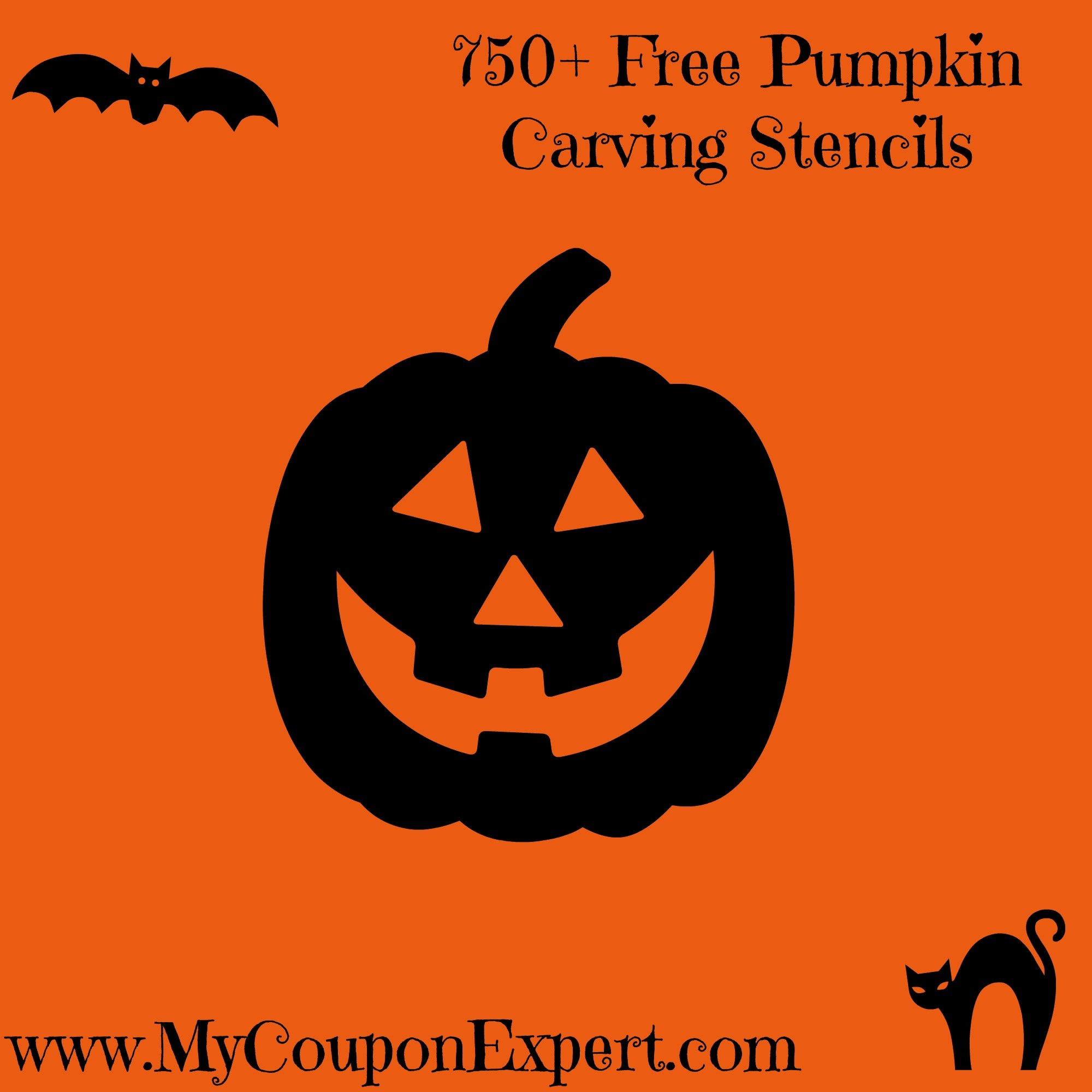 750+ Free Pumpkin Carving Stencils · - Halloween Pumpkin Carving Stencils Free Printable