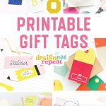 8 Colorful & Free Printable Gift Tags For Any Occasion!   Free Printable Gift Tags Personalized