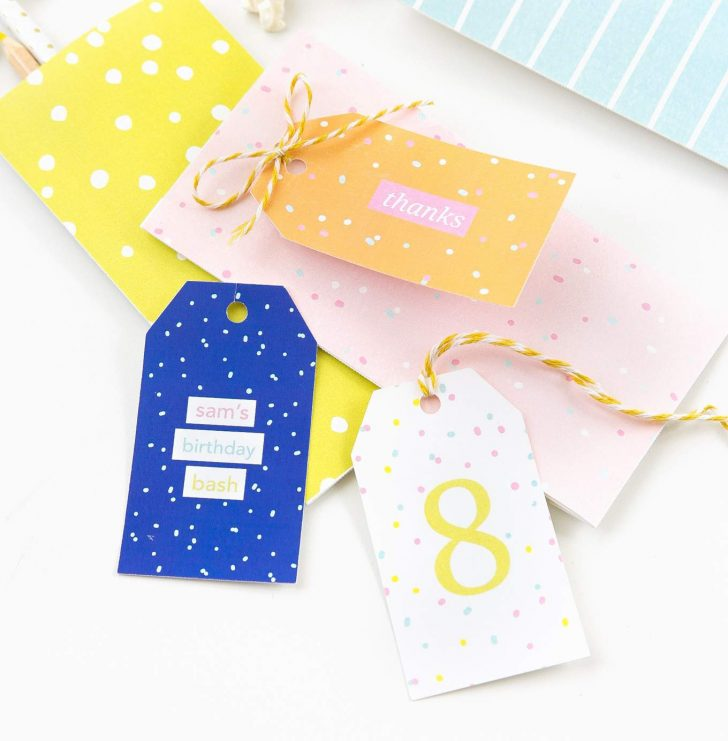 Free Printable Goodie Bag Tags