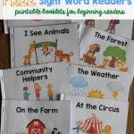 A Ton Of Sight Word Readers For Free! Great For Beginning Readers   Free Printable Leveled Readers For Kindergarten