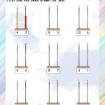 Abacus – Grade 1 Math Worksheets   Free Printable Abacus Worksheets