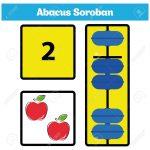 Abacus Soroban Kids Learn Numbers With Abacus, Math Worksheet   Free Printable Abacus Worksheets