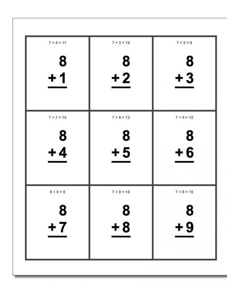 Free Printable Multiplication Flash Cards 0 10