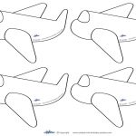 Airplane Templates. Free Airplane Powerpoint Template. Air Travel   Free Printable Airplane Template