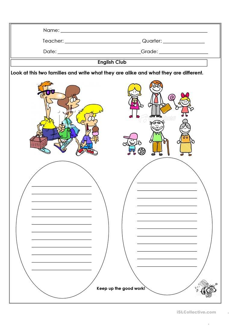 Alike And Different Worksheet - Free Esl Printable Worksheets Made - Free Printable Same And Different Worksheets