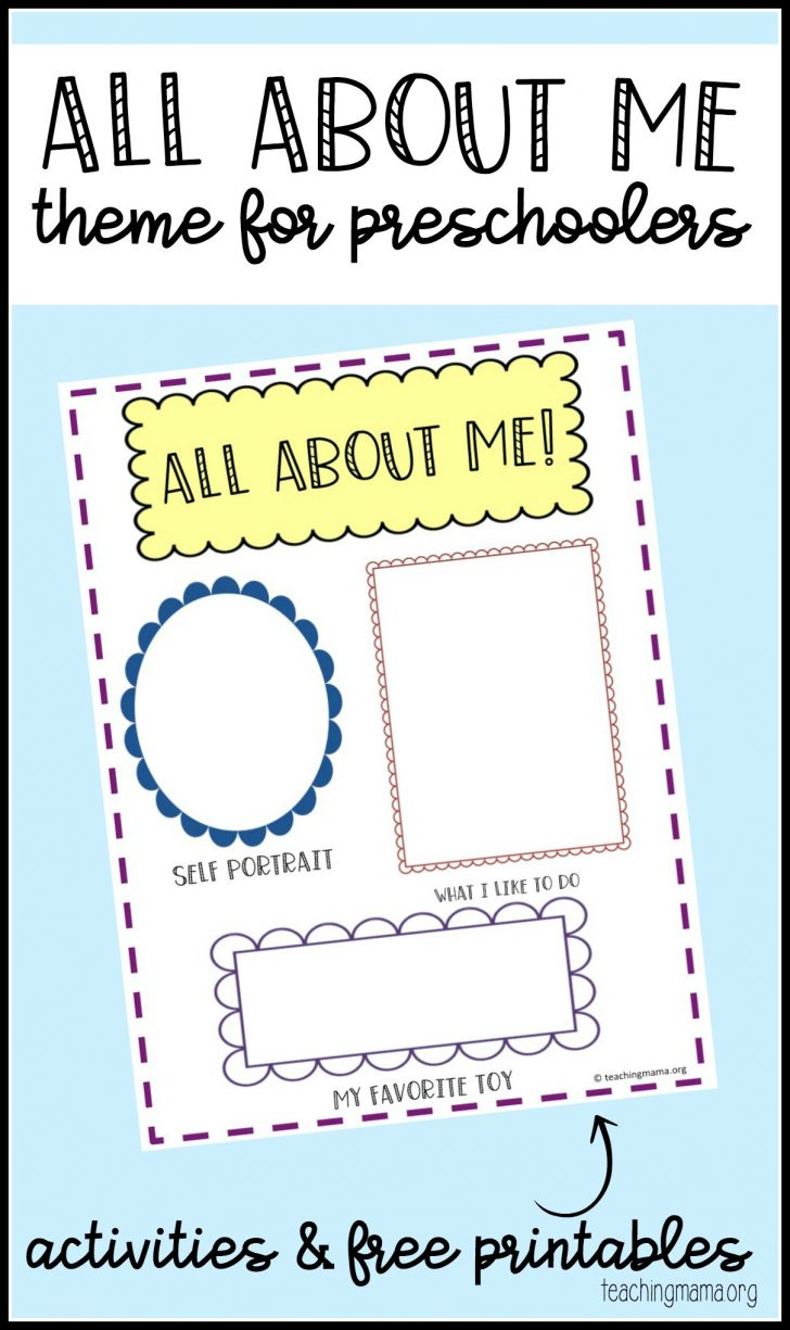 Free Printable Early Childhood Activities