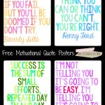 All Things Upper Elementary: Motivational Quotes For State Testing   Free Printable Testing Signs