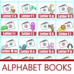 Alphabet! Free Printable Mini Books | Preschool Powol Packets   Free Printable Mini Books