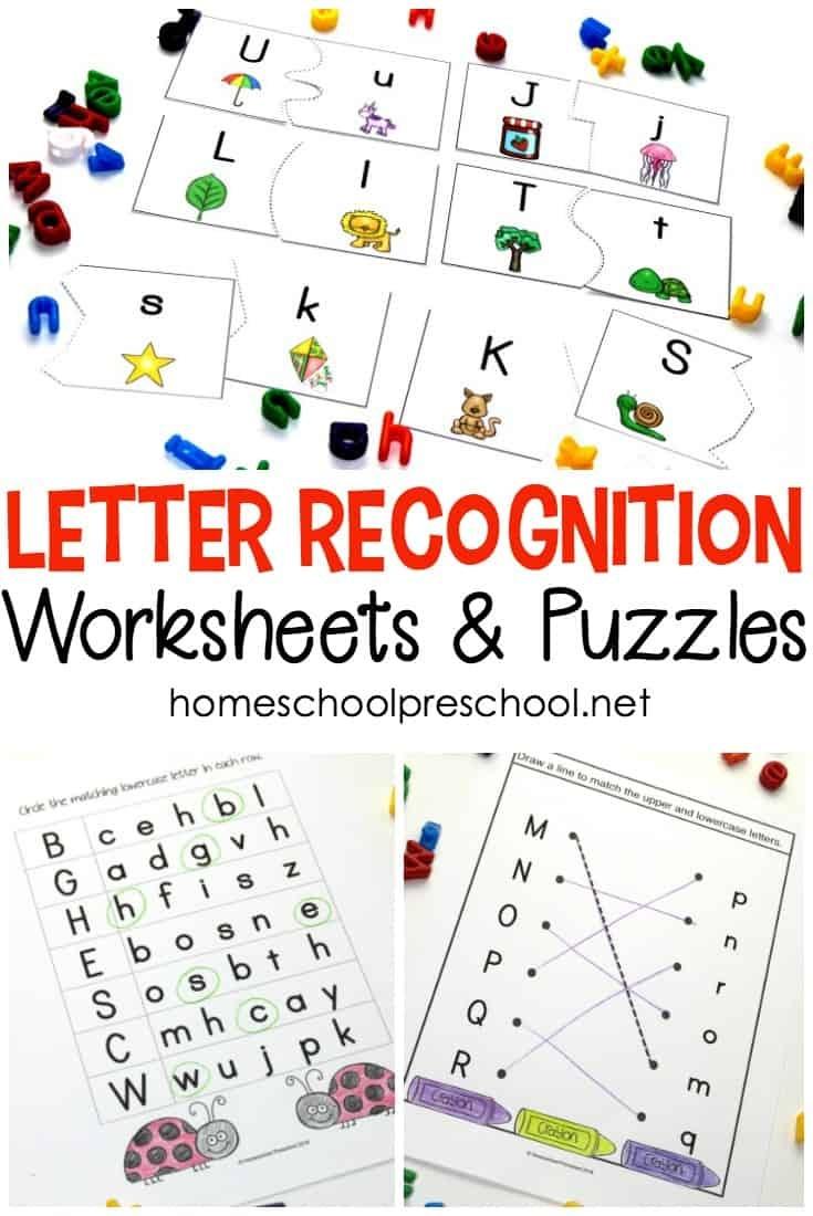 Alphabet Printables For Your Homeschool Preschool - Free Printable Alphabet Puzzles