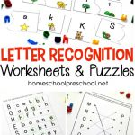 Alphabet Printables For Your Homeschool Preschool   Free Printable Letter Recognition Worksheets