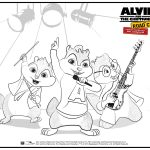 Alvin And The Chipmunks   Road Chip Partner Toolkit   Free Printable Chipmunk Mask