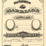 Antique Ephemera Clip Art   Printable Marriage Certificate | Free   Free Printable Wedding Certificates
