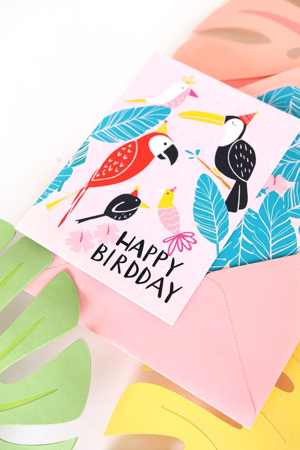 April Newsletter + Free Birthday Card Printable | Bits And Bobs - Free Printable Birthday Cards For Mom