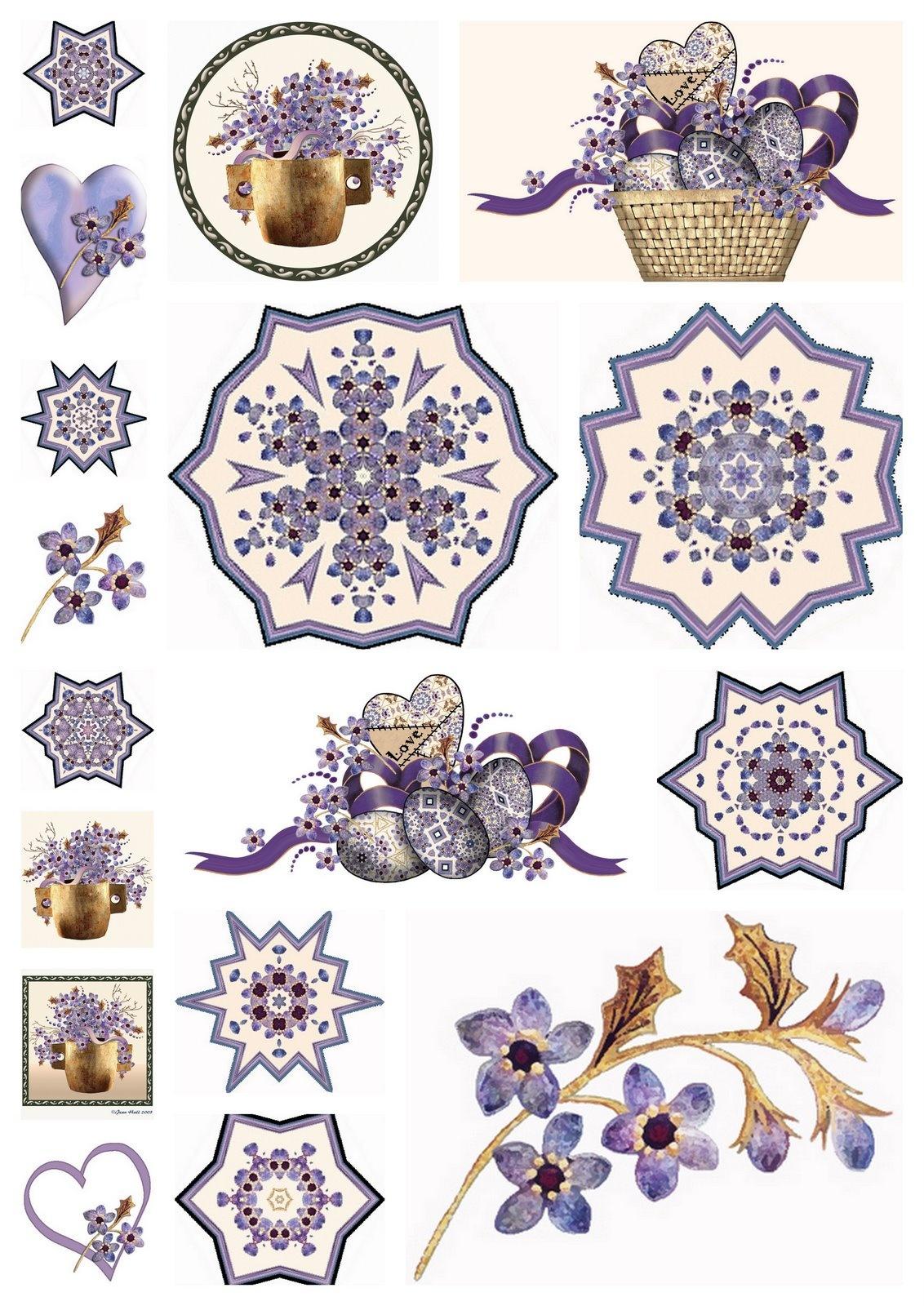 Artbyjean - Paper Crafts: Scrapbook Embellishments - Free Printable Scrapbook Decorations