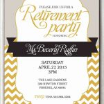 Astonishing Retirement Invitation Template Gallery   Kathycanfor   Free Printable Retirement Party Invitations