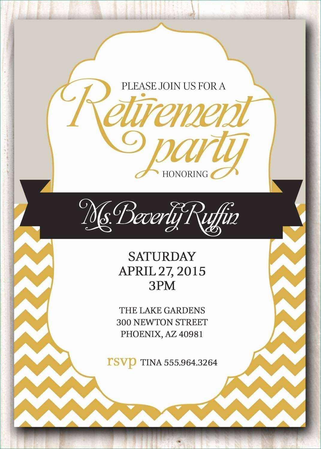 Astonishing Retirement Invitation Template Gallery - Kathycanfor - Free Printable Retirement Party Invitations