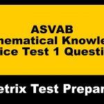 Asvab Practice Test Answers   Free Printable Asvab Math Practice Test