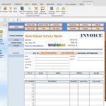 Auto Repair Invoice Template   Free Printable Auto Repair Invoice Template