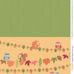 Autumn Friends Free Printables From Papercraft Inspirations Issue   Free Printable Autumn Paper