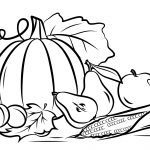Autumn Harvest Coloring Page | Free Printable Coloring Pages   Free Printable Fall Harvest Coloring Pages