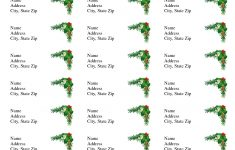 Avery Label Templates | Christmas Address Labels, Avery Holiday – Free Printable Labels Avery 5160