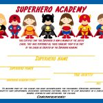 Awesome Ideas For Students To Do To Earn A Superhero Certificate   Free Printable Superhero Certificates
