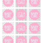 Baby Girl Shower Free Printables | Baby Shower Ideas | Baby Shower   Free Printable Baby Shower Favor Tags Template