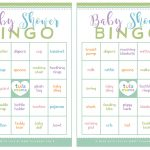 Baby Shower Bingo   A Classic Baby Shower Game That's Super Easy To Plan   Free Printable Baby Shower Bingo Cards Pdf