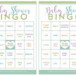 Baby Shower Bingo Card Generator Free – Baby Shower – Themes, Games – 50 Free Printable Baby Bingo Cards