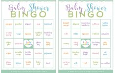 Baby Shower Bingo Card Generator Free – Baby Shower – Themes, Games – 50 Free Printable Baby Bingo Cards