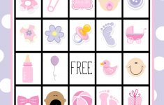 Baby Shower Bingo Cards – Baby Bingo Game Free Printable