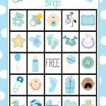 Baby Shower Bingo Cards   Free Printable Baby Shower Bingo Cards Pdf