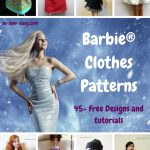 Barbie Clothes Patterns: 45+ Free Designs & Tutorials   So Sew Easy   Easy Barbie Clothes Patterns Free Printable