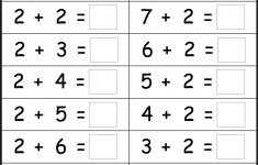 Basic Addition Facts – 8 Worksheets / Free Printable Worksheets – Free Printable Addition Worksheets
