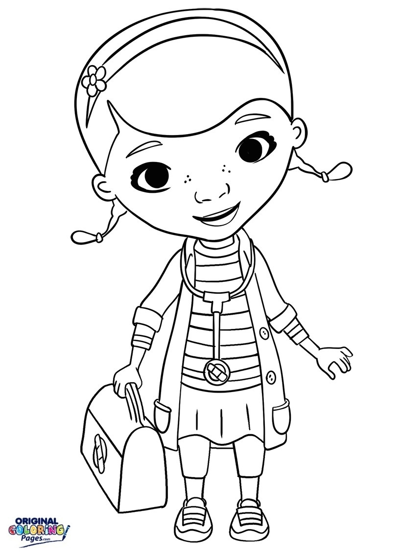 Best Coloring Pages Collection - Doctor Coloring Pages Free Printable