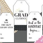 Best Free Printable Graduation Gift Tags  Sophia Lee   Free Printable Gift Tags